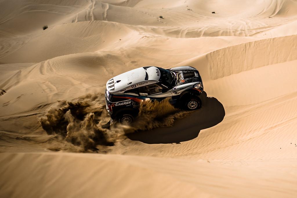 G-Energy Team: Пустыня Лива и новый челлендж