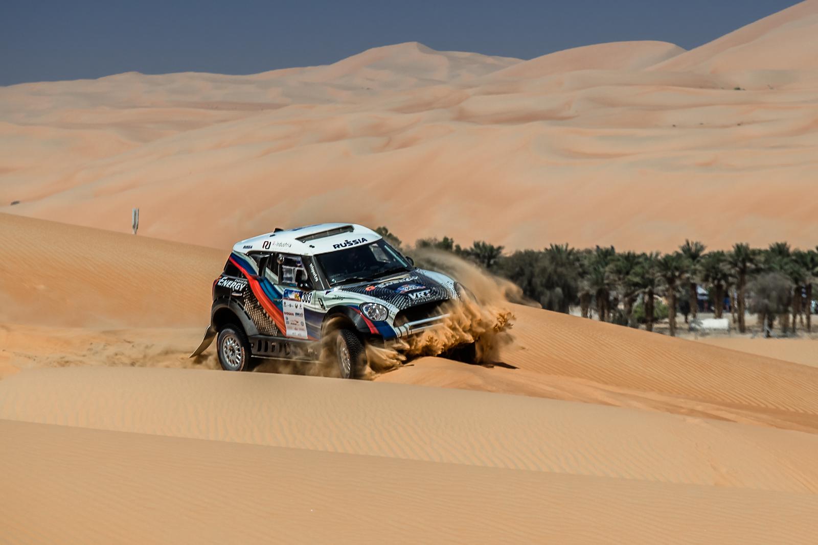G-Energy Team: жаркий день в пустыне на пути к поставленной цели