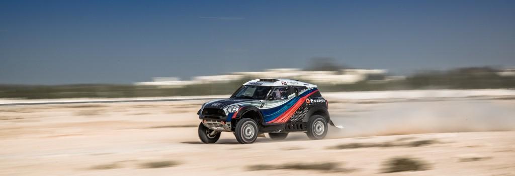 """Первые """"сюрпризы"""" четвертого этапа Кубка Мира Qatar Cross Country Rally"""