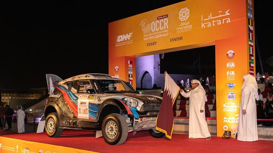 Ралли-рейд в Катаре: Васильев стартует первым