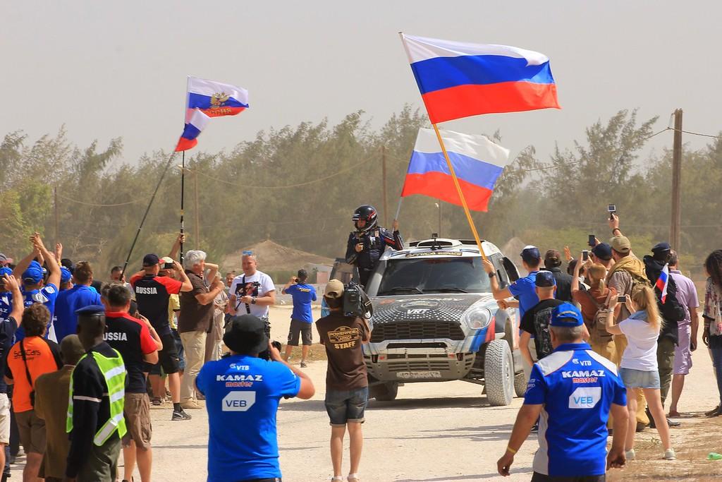 Победа G-Energy Team: подиум Africa Eco Race 2017 окрасился в цвета российского триколора