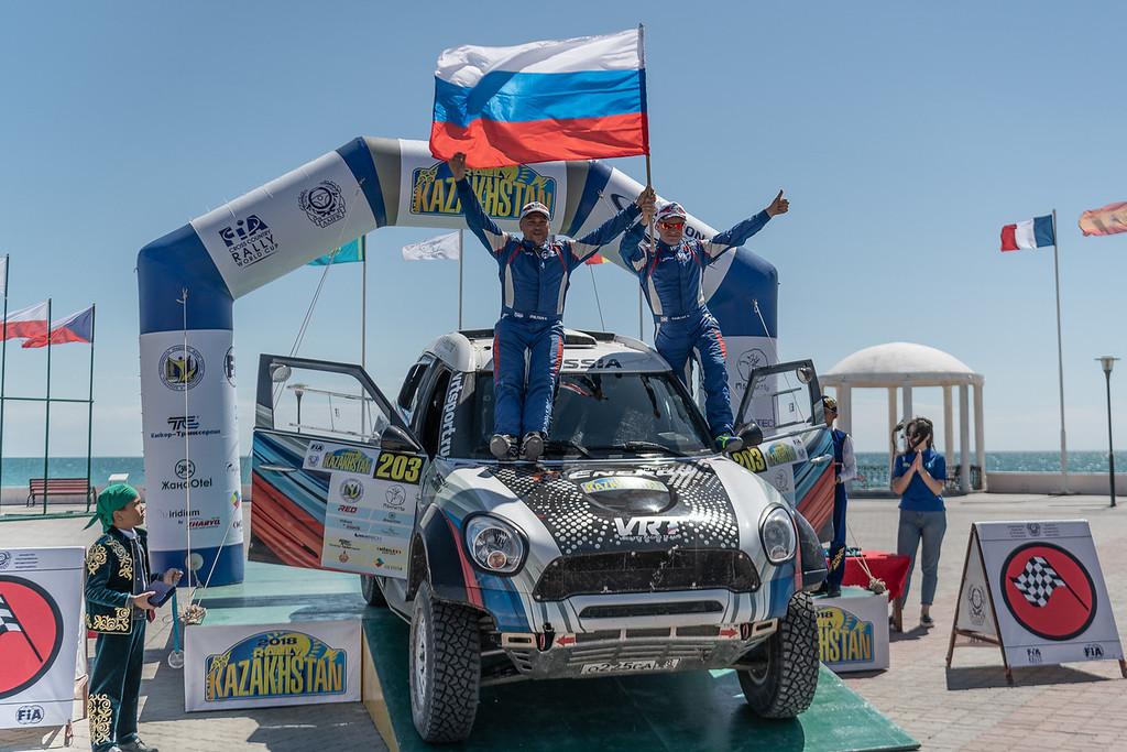 G-Energy Team на подиуме пятого этапа Кубка Мира