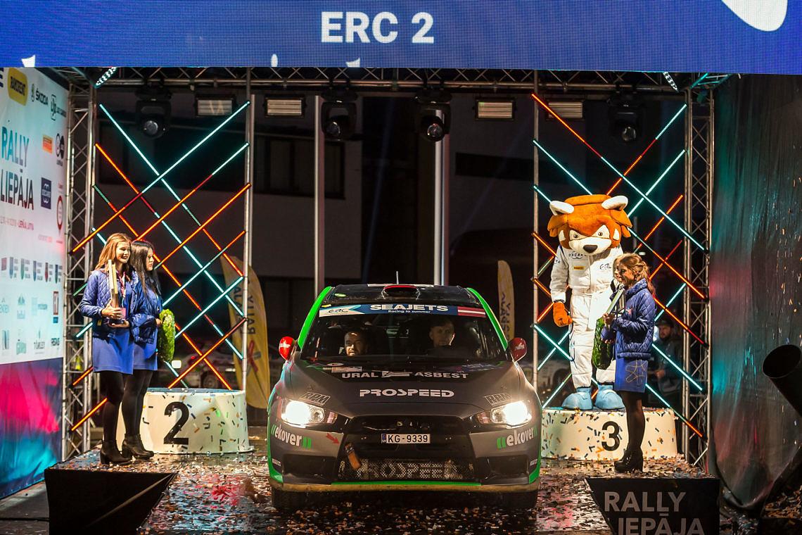 Чемпионат Европы: раллийный финал на Балтийском взморье