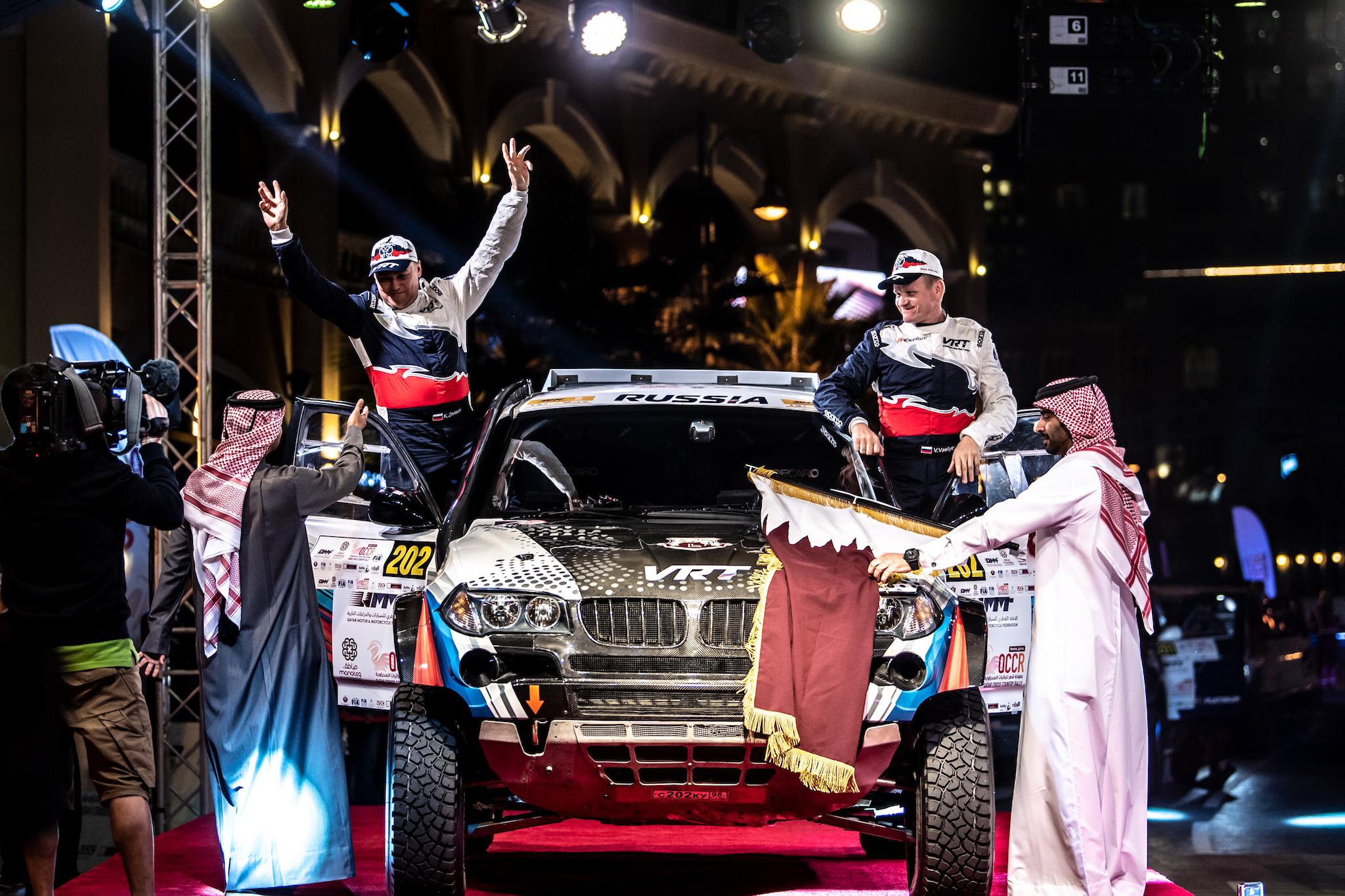 Сменить лёд на пламя: сразу после бахи в Карелии Васильев стартует в Катаре на «Manateq - Qatar Cross Country Rally»