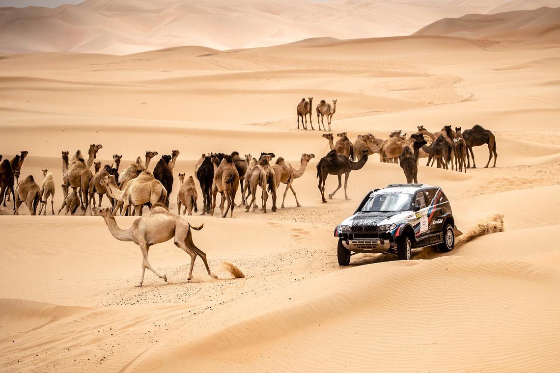 2019 Abu Dhabi Desert Challenge: Шестое место в генеральной классификации гонки