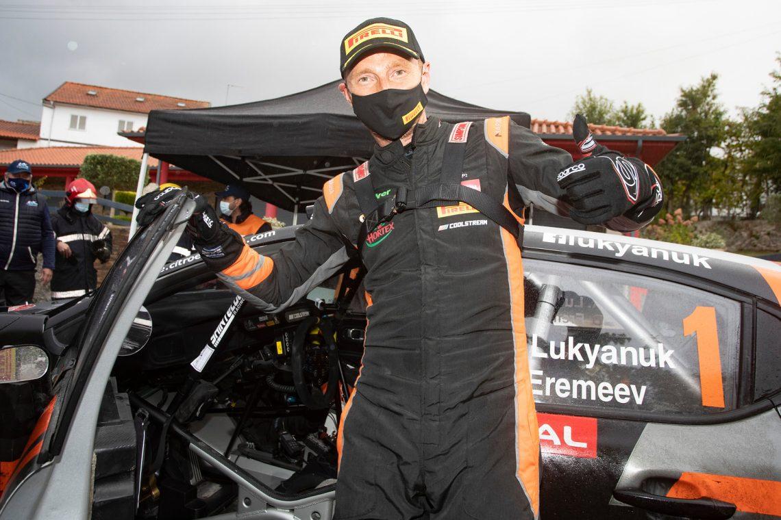 Лукьянюк - лидер чемпионата Европы после победы в Португалии