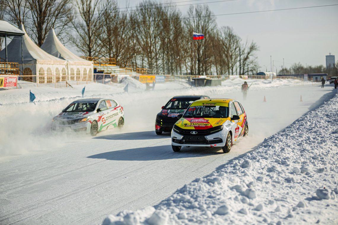 B-Tuning - призеры сезона Кубка России по ледовым гонкам